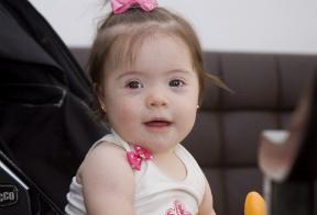 A pequena Lorena Crédito da foto: Acervo pessoal