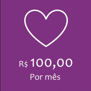 COTA MENSAL - R$100,00