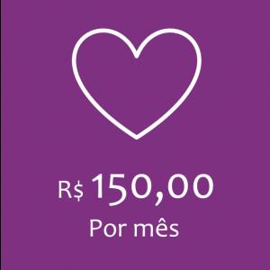 COTA MENSAL - R$150,00
