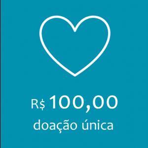 Doação - R$ 100,00