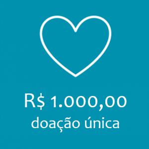 COTA UNICA - R$ 1.000,00
