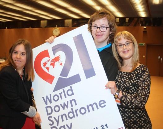 Dia Internacional da Síndrome de Down na ONU em Genebra - #MinhaVozMinhaComunidade