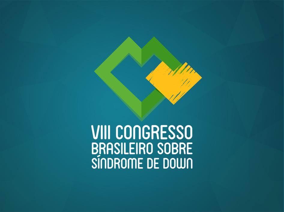 logotipo do VIII congresso brasileiro sobre sindrome de down.