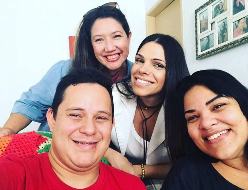 Vivi Reis, Cris Zamari, Rodrigo Torres e Cássia Souza.