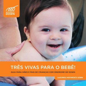 Capa do guia Três Vivas para o Bebê!