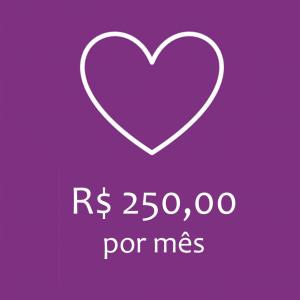 COTA MENSAL - R$250,00