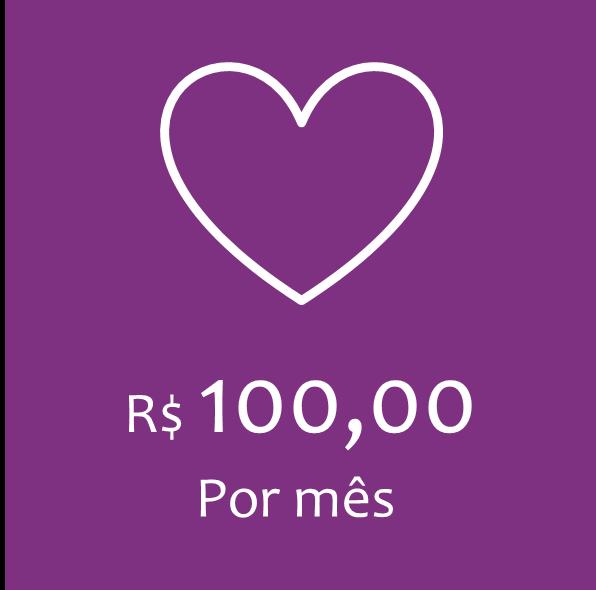 COTA MENSAL – R$100,00