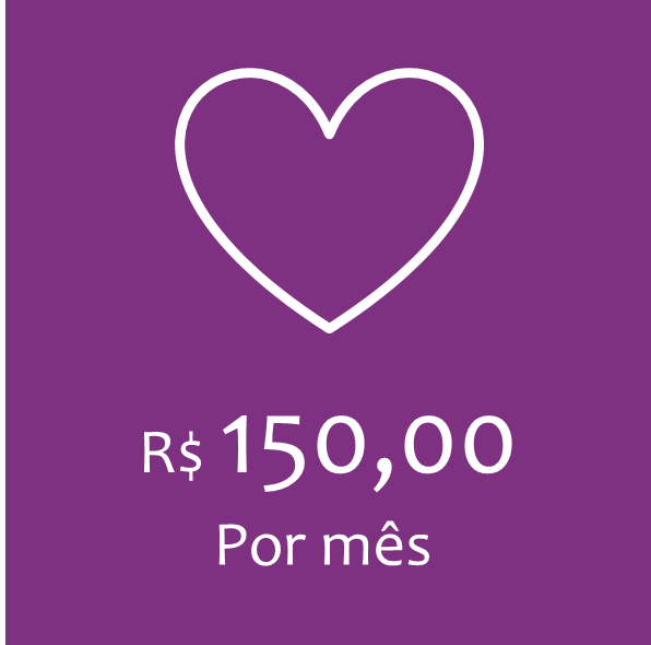 COTA MENSAL – R$150,00
