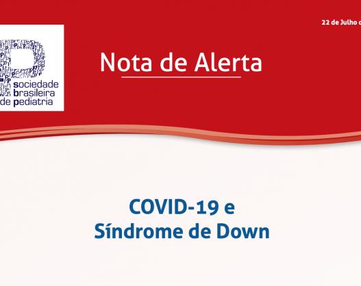 COVID-19 e Síndrome de Down - Sociedade Brasileira de Pediatria