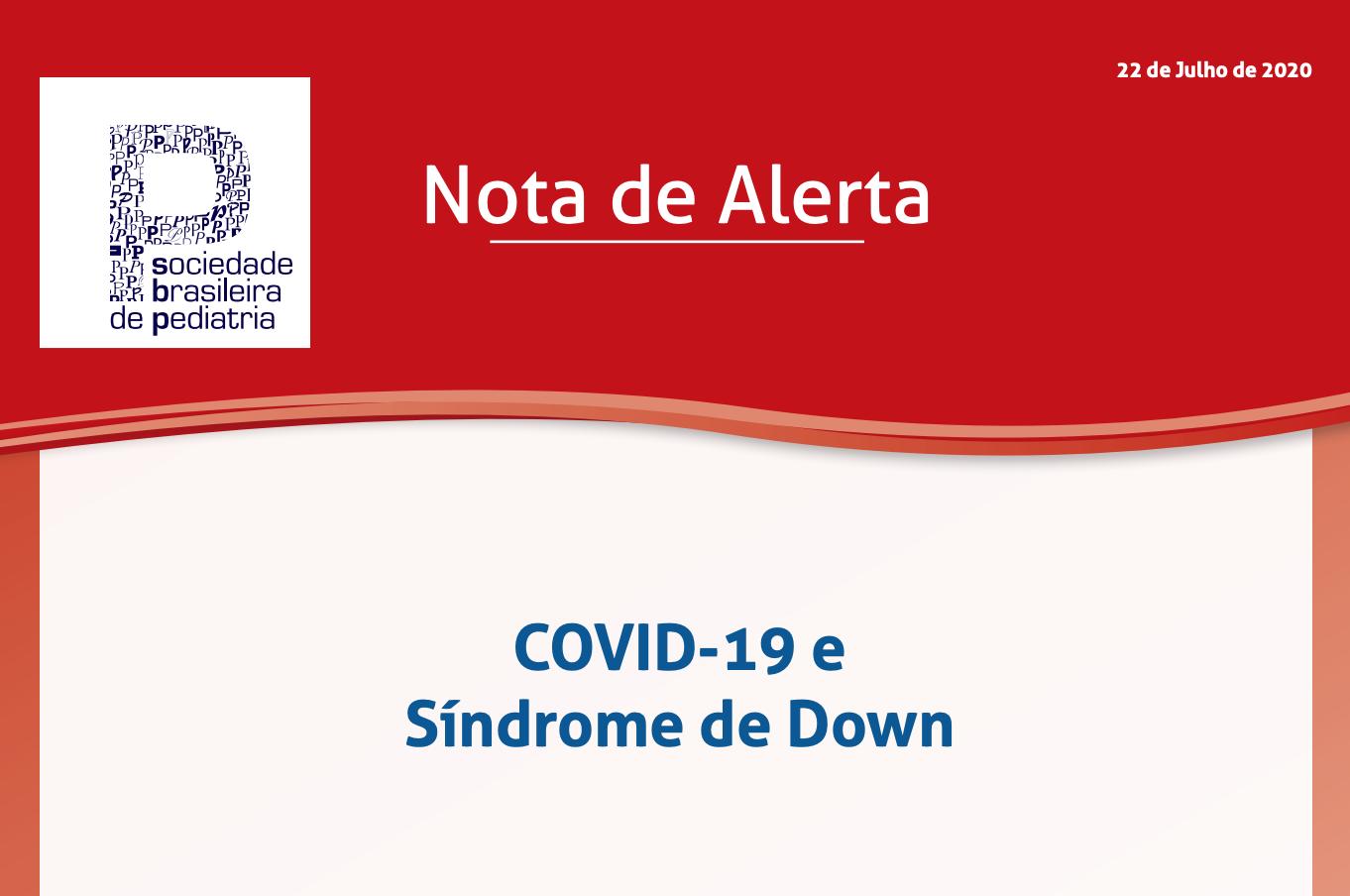 COVID-19 e Síndrome de Down – Sociedade Brasileira de Pediatria